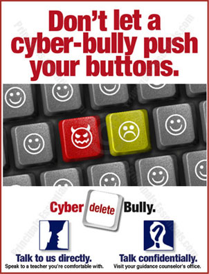 School Cyber-Bully Prevention Posters