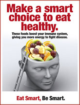 Smart Choice Food Poster