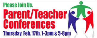 Parent Teacher Conference Banner