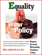 Positive Behavior Equality is our Policy