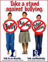 School Cyber Bully Prevention Poster