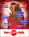 Lend a Hand to Stop School Bullying Posters